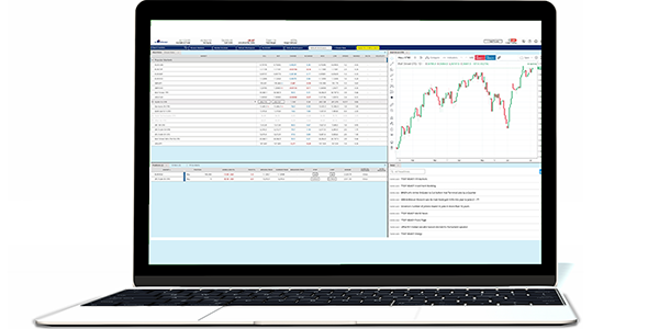 Free browser based trading platform for web allowing CFD and Forex.